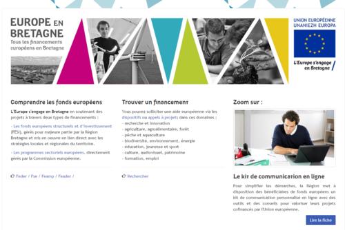 Site Internet europe.bzh