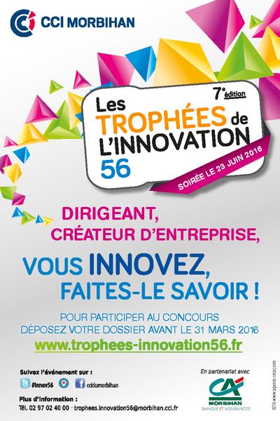 Flyer Trophées de l'innovation 56 2016
